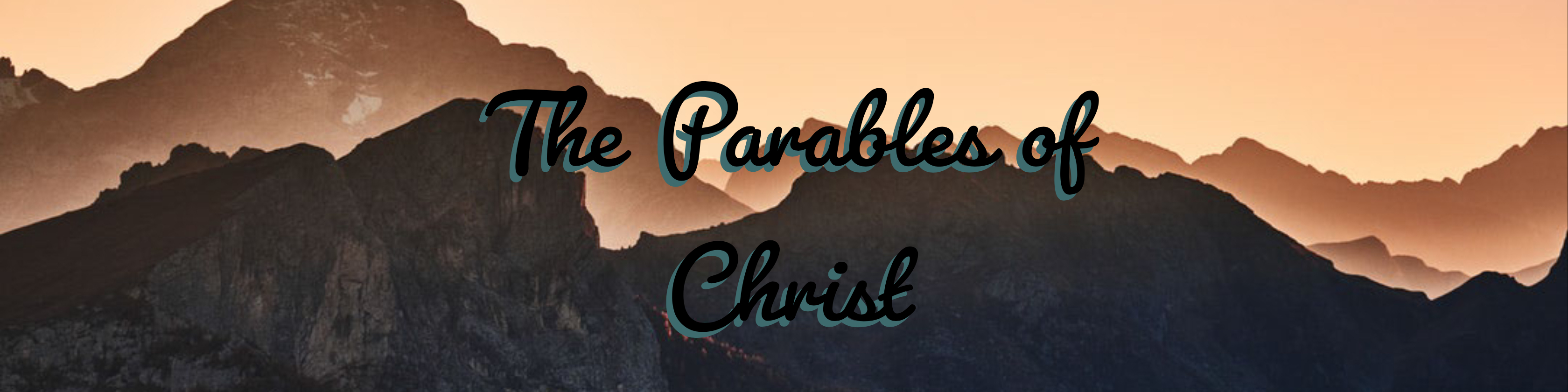 The Parables of Christ - The Soils